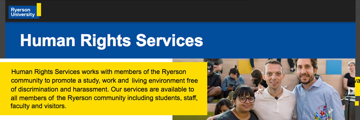 Ryerson University Human Rights Services