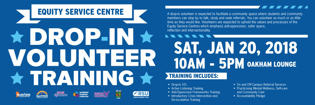 Drop In Volunteer Training